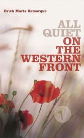 """Ремарк """"На Западном фронте без перемен"""" (обложка из Америки)"""