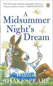 """Шекспир """"Сон в летнюю ночь"""" (англоязычная обложка)"""