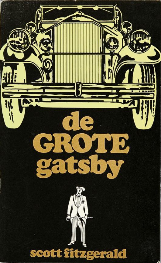 """Автомобильная обложка """"Гэтсби"""" из Нидерландов"""