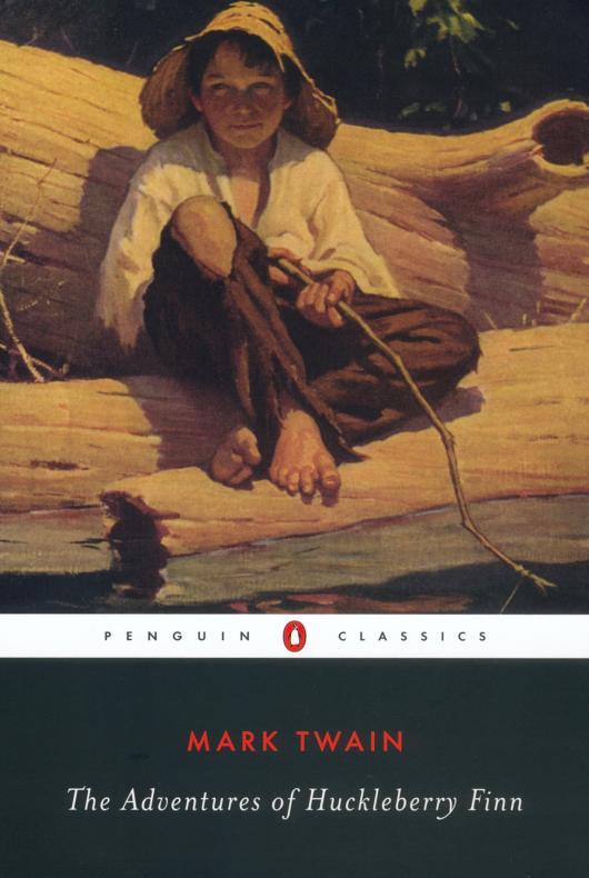 """Приключения Гекльберри Финна"" - обложка от Penguin"