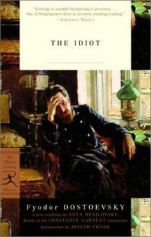 """Фёдор Достоевский """"Идиот"""" от Modern Library"""