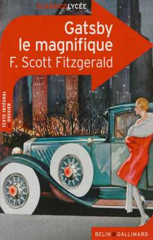 """Ещё одна обложка """"Гэтсби"""" от Gallimard"""