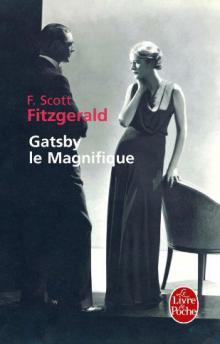 """Французская обложка """"Гэтсби"""" от Livre de poche"""