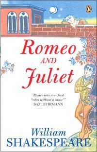 """Обложка """"Ромео и Джульетты"""" Уильяма Шекспира"""
