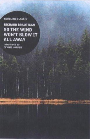Американская обложка Ричарда Бротигана от Rebel Inc Classics