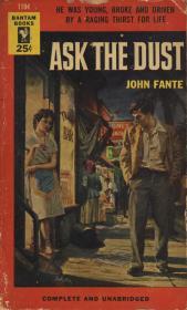 """Джона Фанте """"Спроси у пыли"""" (американская обложка)"""