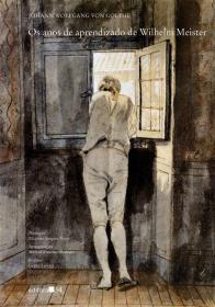 Иоганн Гёте «Годы учения Вильгельма Мейстера» (обложка)