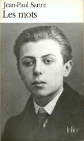 """Жан-Поль Сартр - обложка """"Слов"""" прямиком из Франции"""