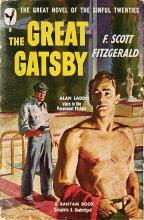 """Американская обложка """"Великого Гэтсби"""" Фицджеральда #19"""