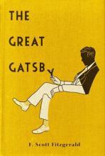 """Американская обложка """"Великого Гэтсби"""" Фицджеральда #2"""