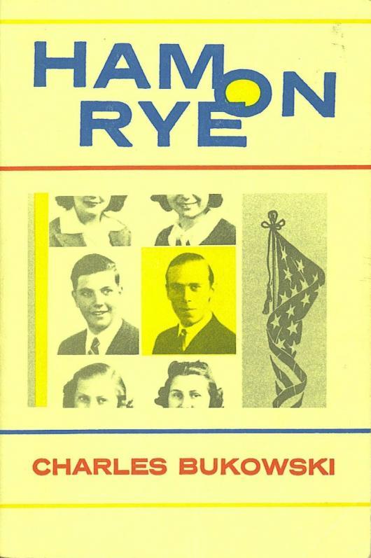 Чарльз Буковски на обложке собственной книги, прямиком из детства