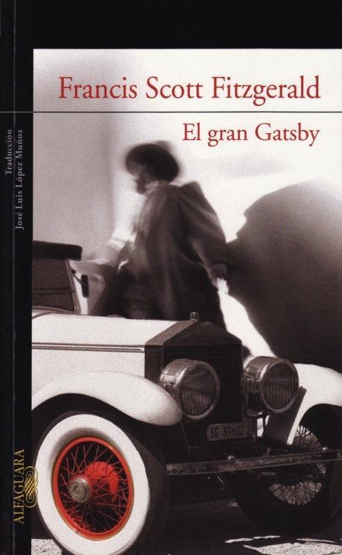 """Обложка """"Гэтсби"""" от издательства Alfaguara"""