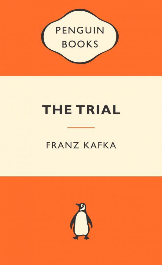 """Франц Кафка """"Процесс"""" (англоязычная обложка)"""