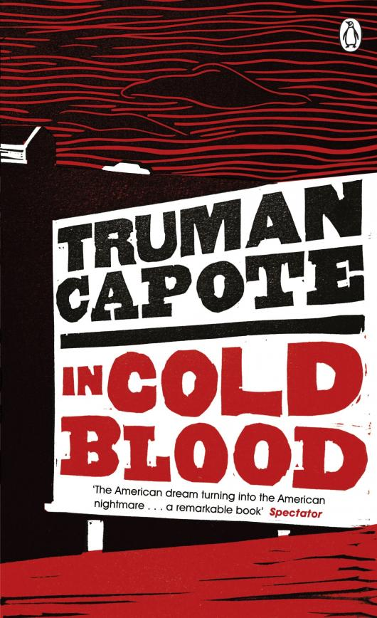 """""""Хладнокровное убийство"""" Трумена Капоте (американская обложка)"""