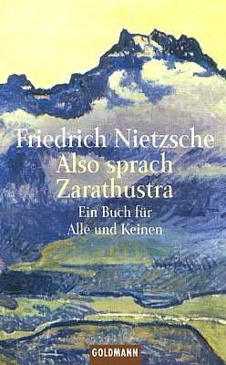 """Немецкая обложка Ницше """"Так говорил Заратустра"""""""