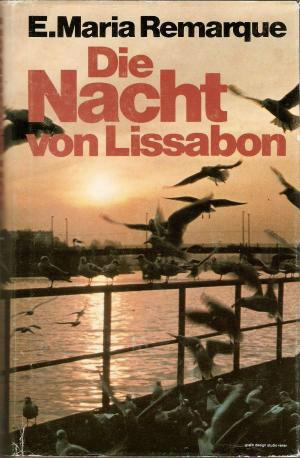 """Обложка """"Ночи в Лиссабоне"""" Ремарка из Германии"""
