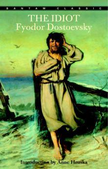 """Обложка """"Идиота"""" Достоевского от Bantam Books"""