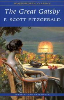 """Обложка """"Гэтсби"""" от Wordsworth Classics."""