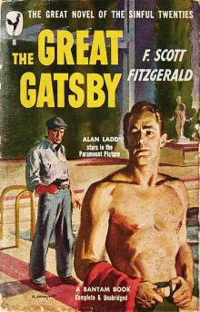 """Фрэнсис Скотт Фицджеральд - американская обложка """"Великого Гэтсби"""""""