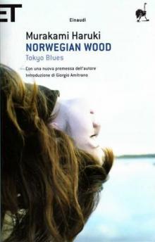 """Харуки Мураками """"Норвежский лес"""" (итальянская обложка)"""