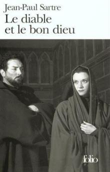 Французская театральная обложка Сартра